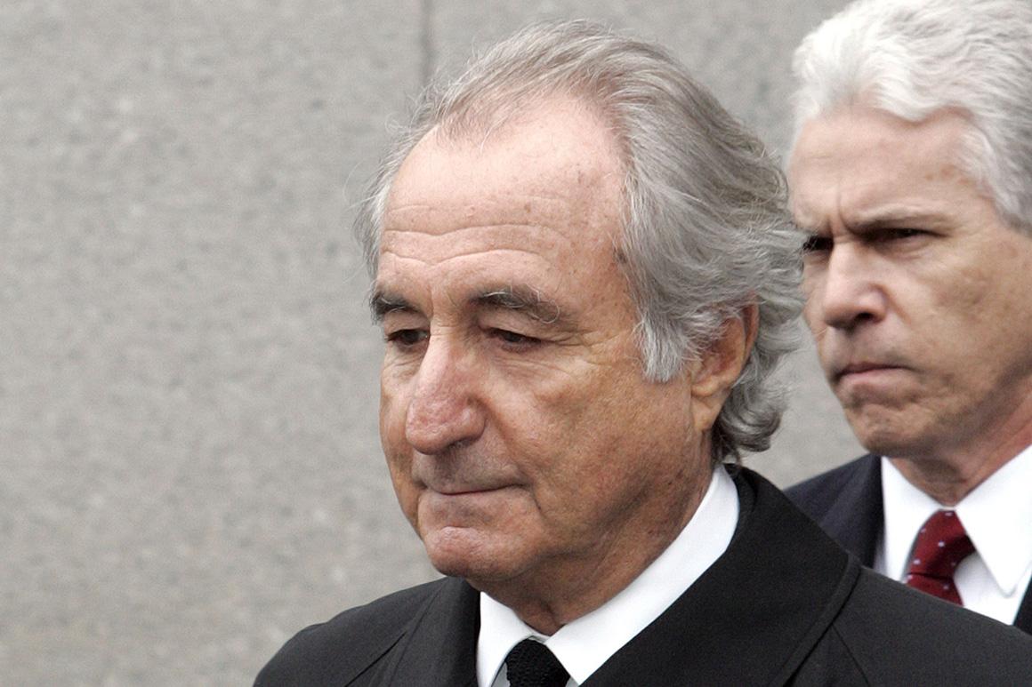 Ponzi schemer Bernie Madoff dies in jail