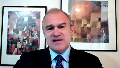 Sir Ed Davey: Boris Johnson is a serial liar