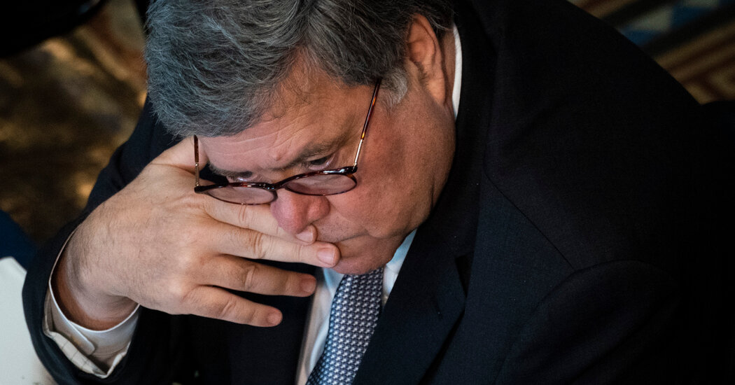 Decide Rebukes Barr's Justice Dept. as Deceptive on Determination To not Cost Trump