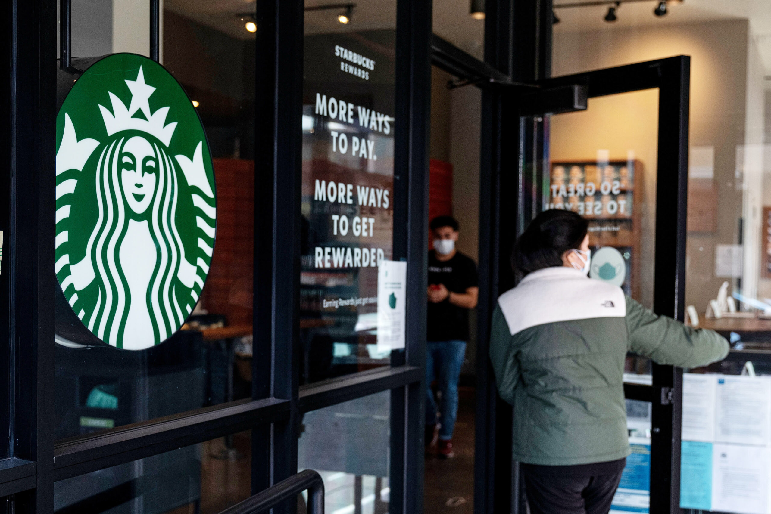 Goal, Starbucks updates masks coverage for vaccinated prospects