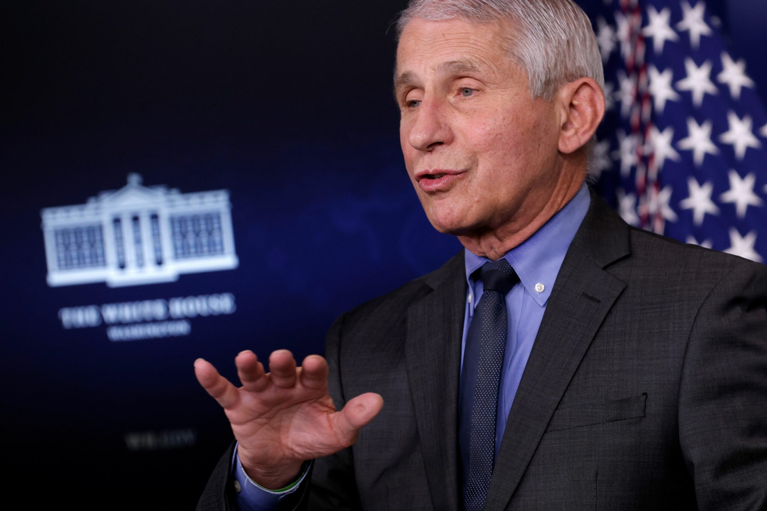 Fauci says Covid infections are lowering in all 50 states