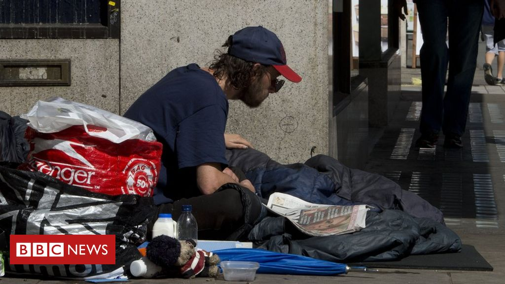 Tough sleepers in England to get £203m funding to assist them off the streets