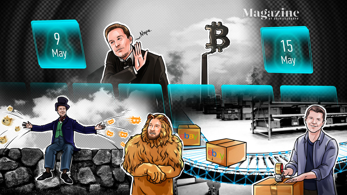 Bitcoin disaster, Elon Musk criticized, Ether thrives, Dogecoin survives: Hodler's Digest, Could 9–15