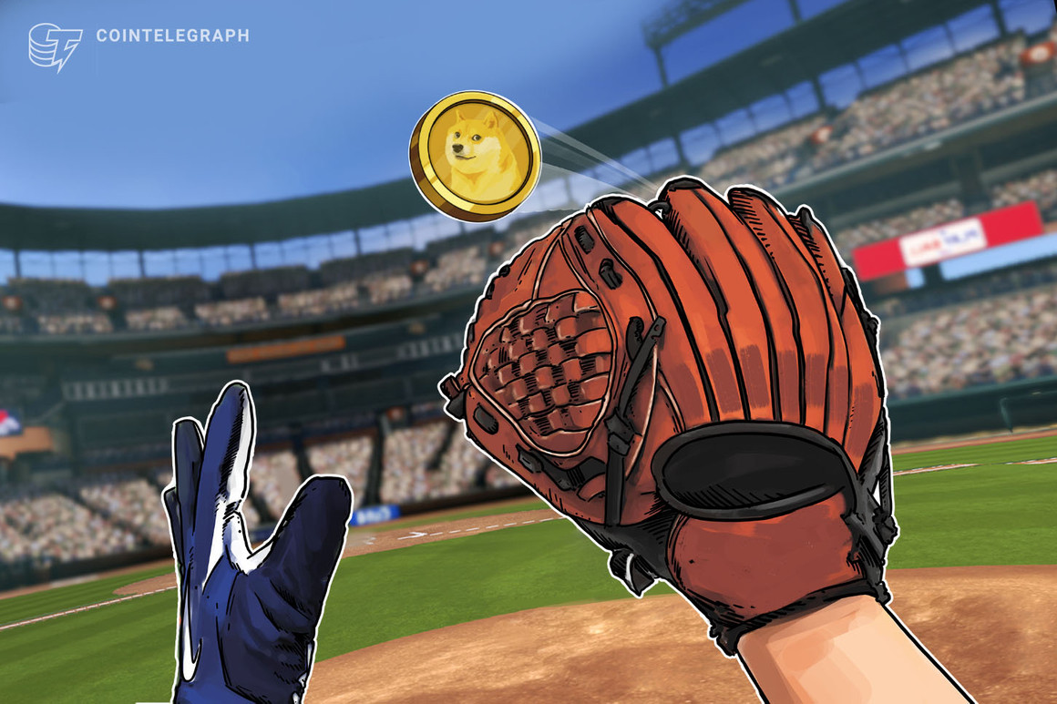 Main League Baseball sells pairs of tickets for 100 Dogecoin every