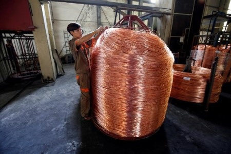 METALS-Copper edges increased on Chilean provide worries