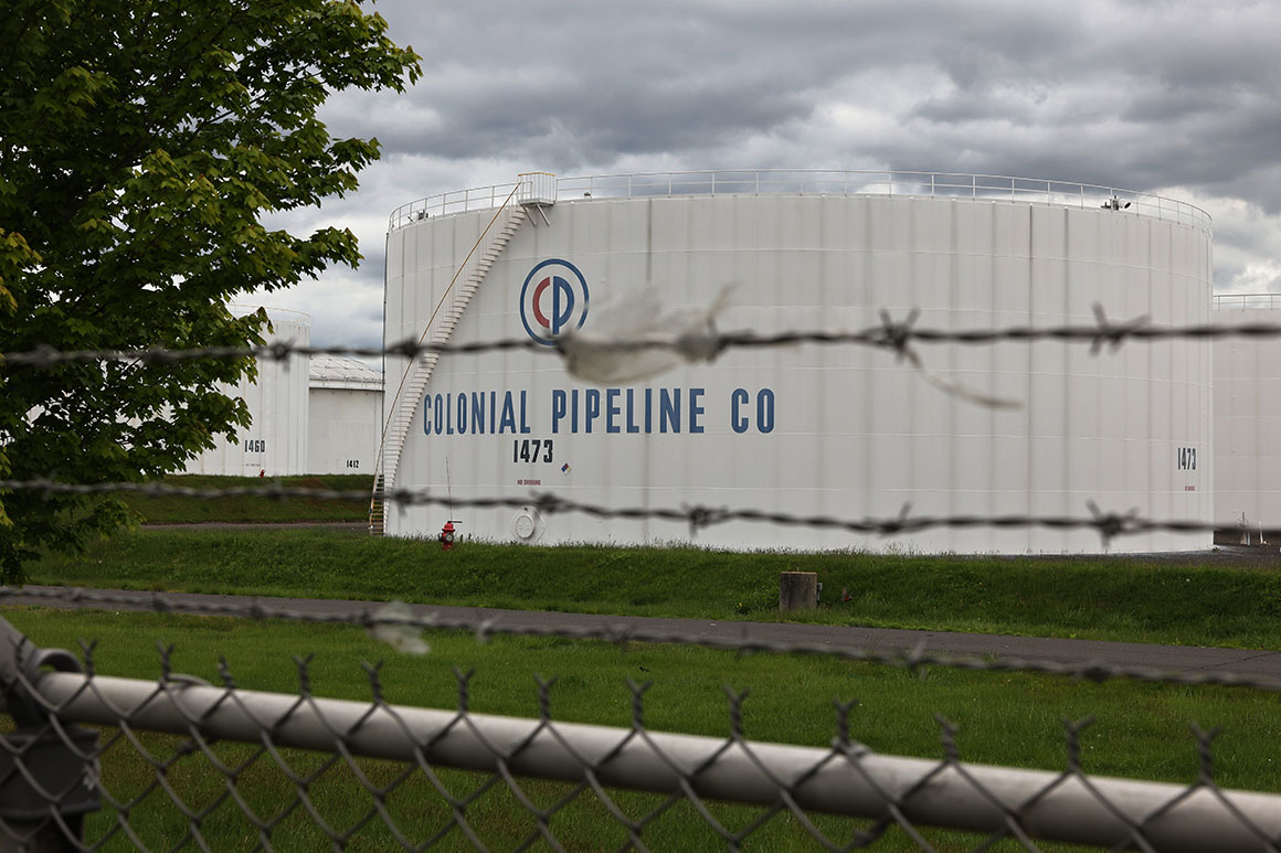 Colonial Pipeline restarts operations after cyberattack
