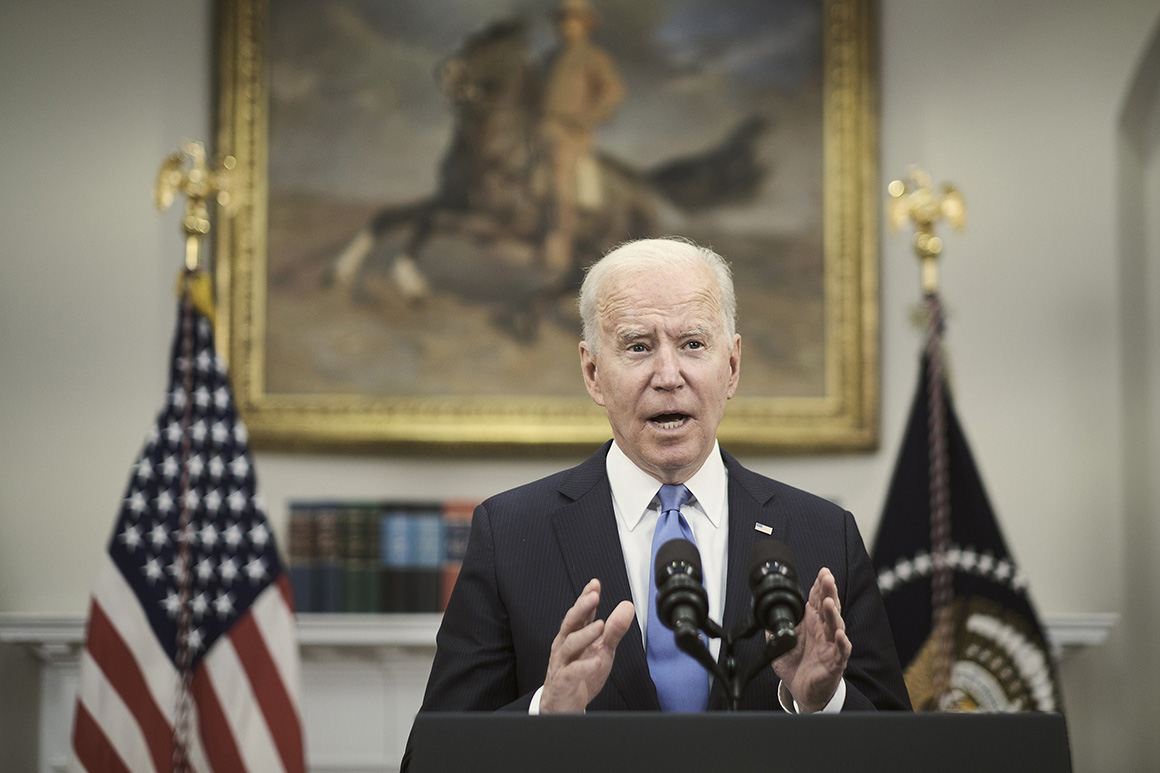 Biden pressed to ship clear message on economic system as warning indicators flash