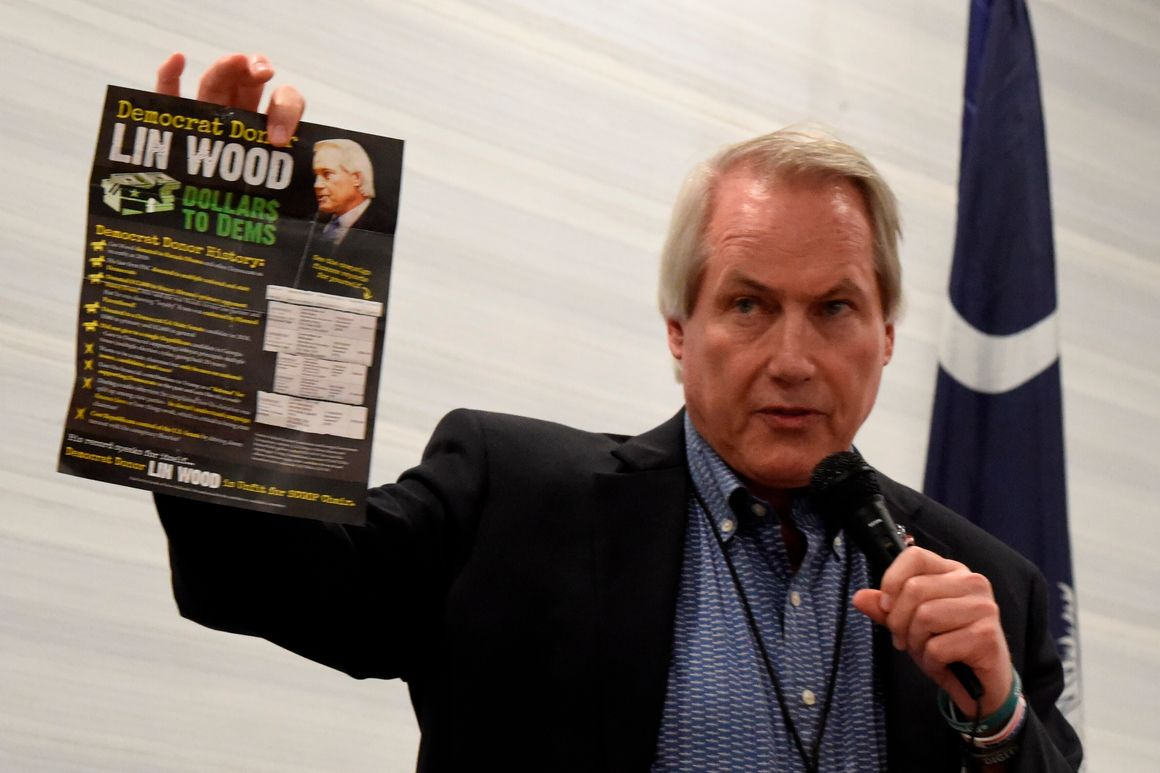 Stolen election delusion rattles key GOP race