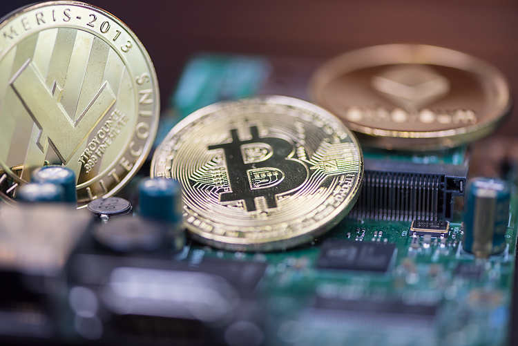 Cryptos climb again, Fed's first taper hints help greenback, jobless claims eyed