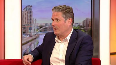 Sir Keir Starmer says he'll take accountability for election outcomes