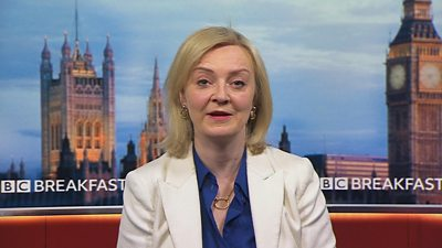 Liz Truss: Sleaze not arising on doorstep