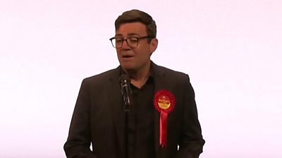 Elections outcomes 2021: Higher Manchester Mayor Andy Burnham's successful speech