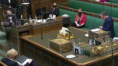 Queen's Speech: Starmer and Johnson on social care plans