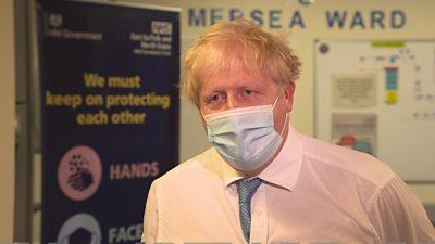 Boris Johnson on Covid England unlocking measures date