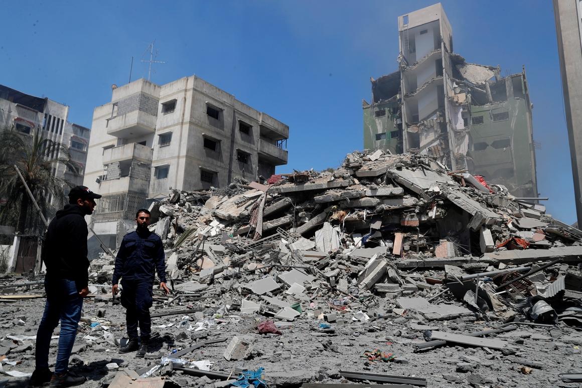 Israeli strikes kill 26, topple buildings in Gaza Metropolis