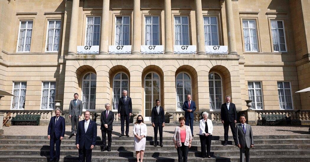 International Tax Deal Reached Amongst G7 Nations