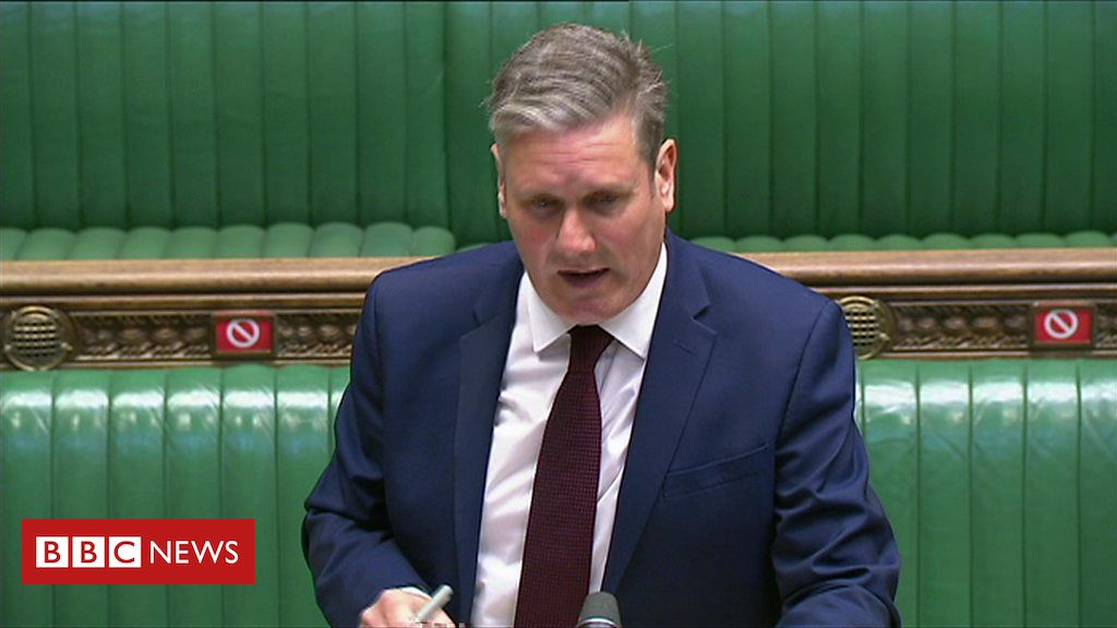 PMQs: Starmer and Johnson on risk of 'two state resolution'