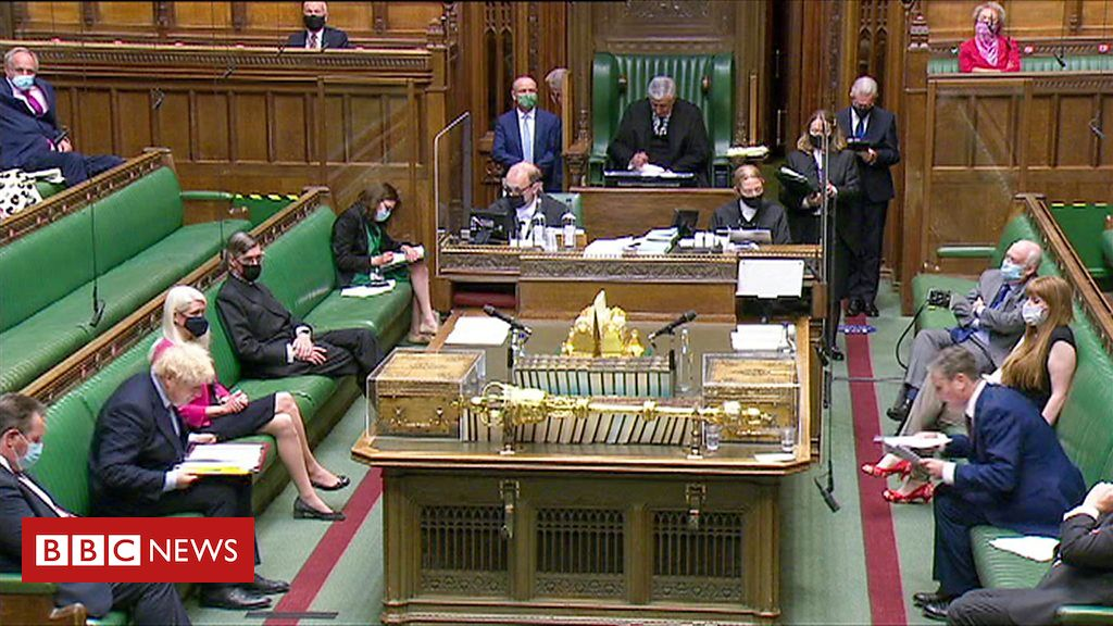 PMQs: Starmer and Johnson on G7 assist for Covid vaccines