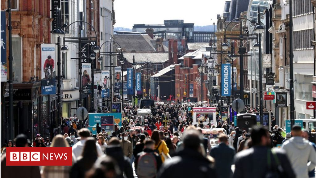 UK economic system grows in April as retailers reopen