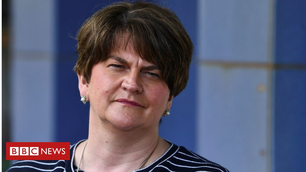 DUP: Arlene Foster unhappy at method she was 'taken out' of place