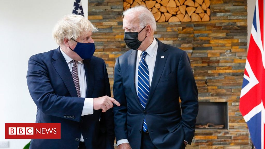 G7: UK and US have an 'indestructible relationship', PM says