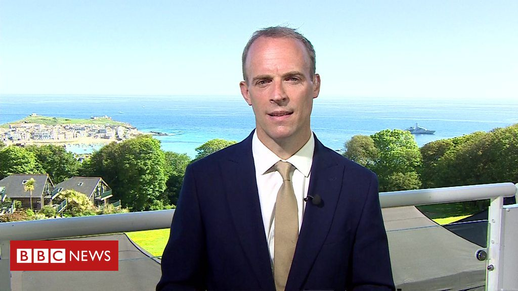 Dominic Raab: EU figures' angle to Northern Eire 'offensive'