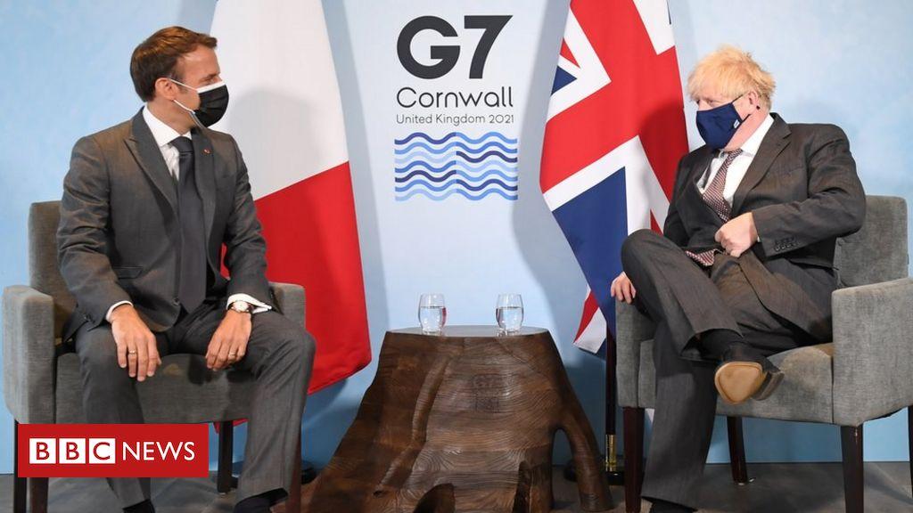 G7 summit: Dominic Raab calls Emmanuel Macron's Northern Eire remark 'offensive'
