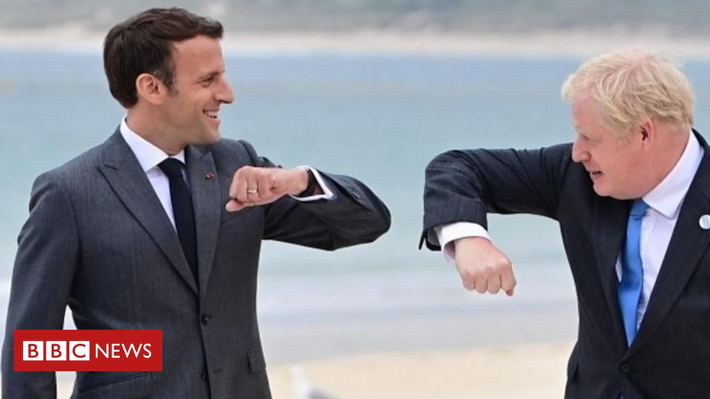 G7: Macron responds to criticism over 'offensive' NI feedback