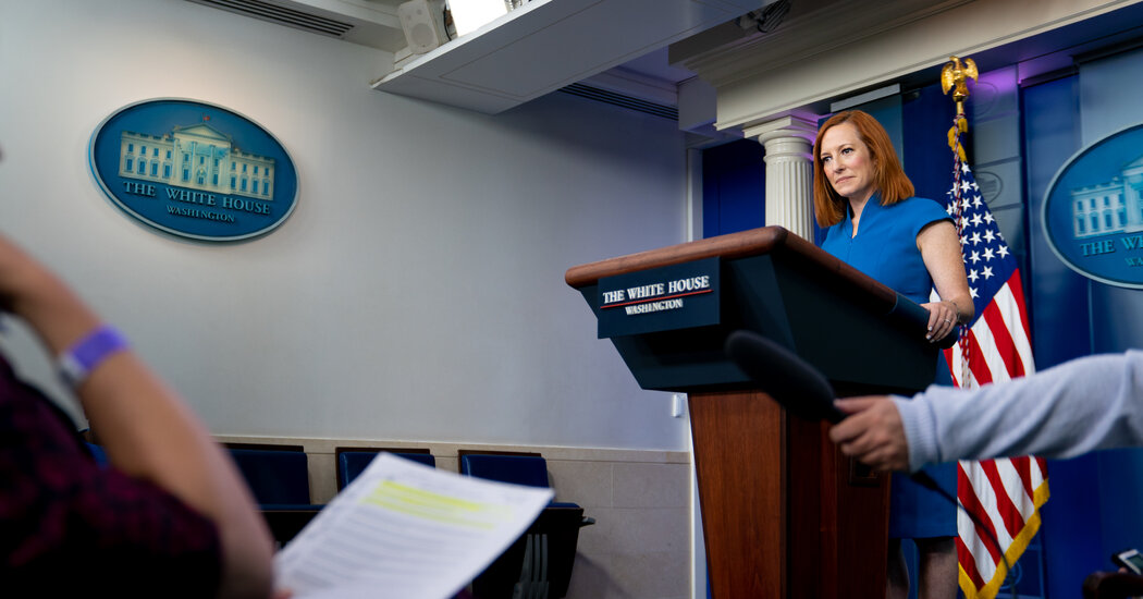 Biden White Home Disavows Information of Gag Order in Leak Case