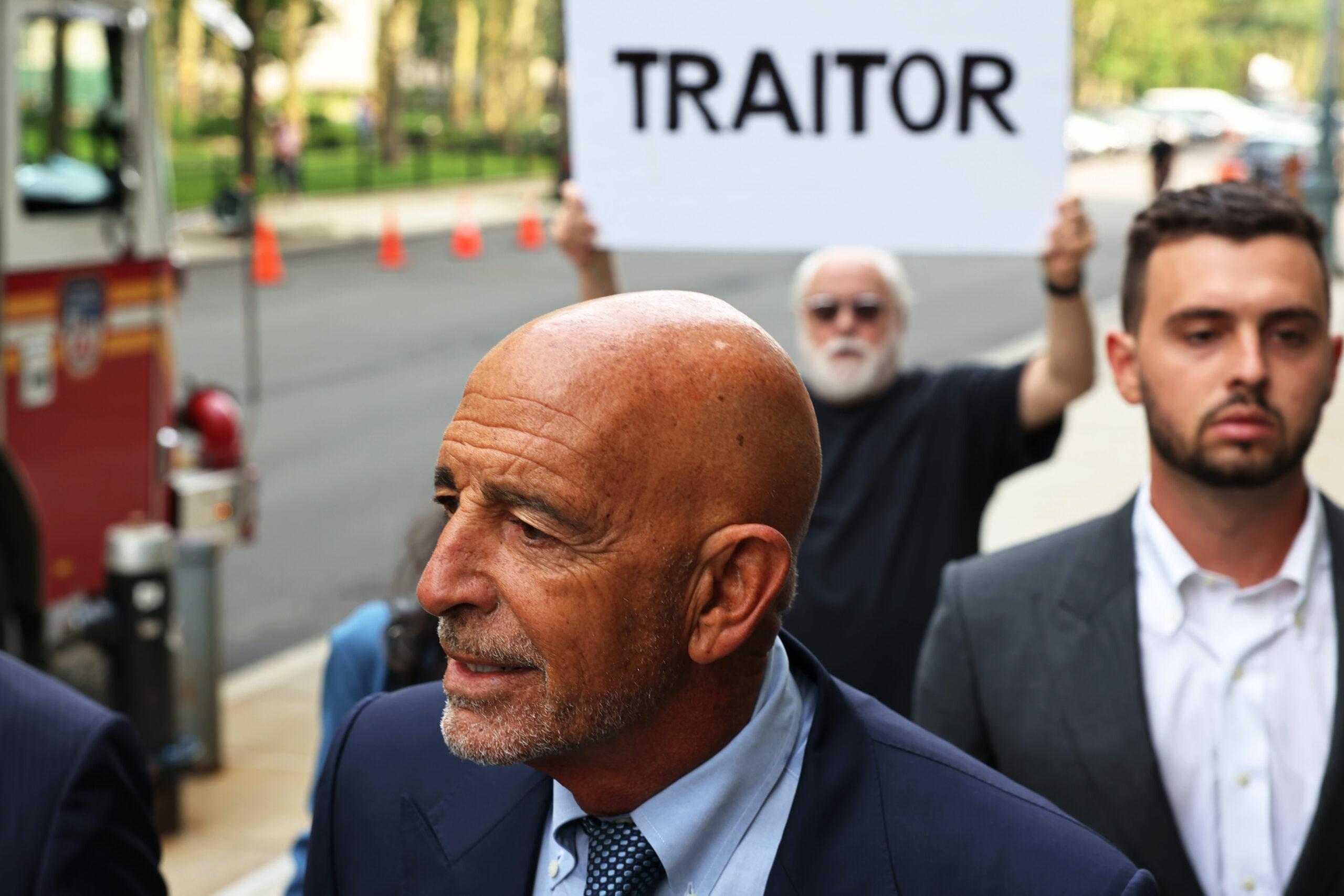 Trump buddy Tom Barrack pleads not responsible to UAE lobbying expenses