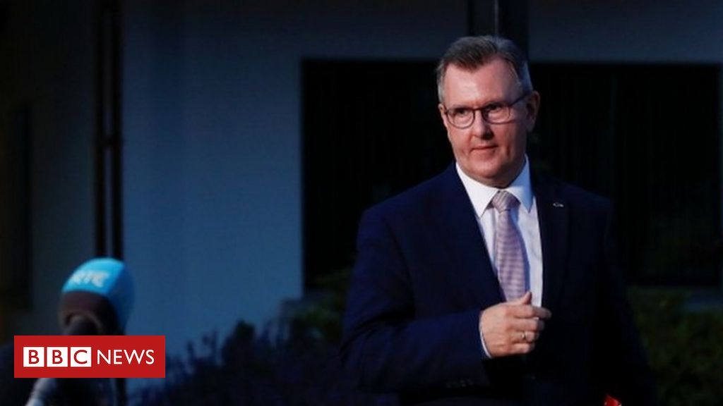 DUP management: Sir Jeffrey Donaldson ratified as get together chief
