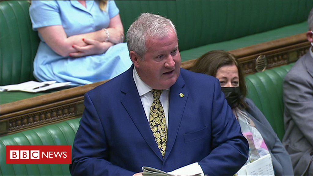PMQs: Blackford and Johnson on Covid inquiry timing