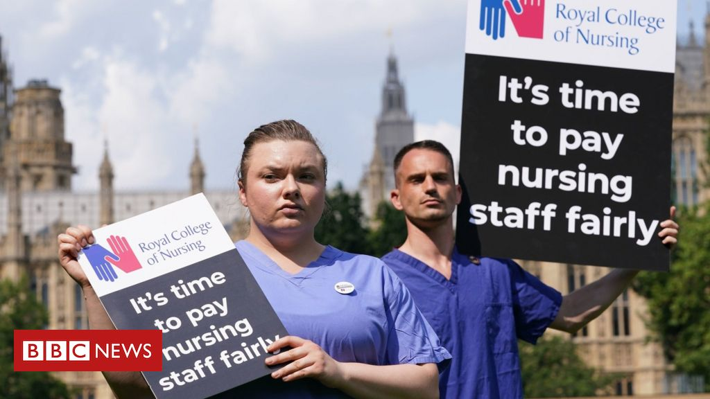 Nurses could think about industrial motion over 3% NHS pay rise, union says