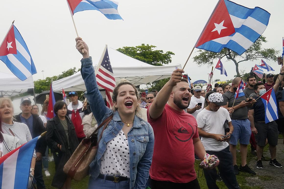 Florida Dems to Biden: Don't blow 'golden alternative' on Cuba