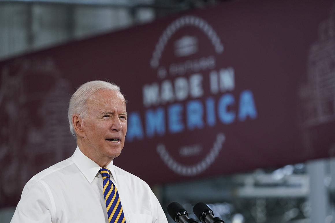 Biden's financial positive factors include newer worries concerning the future