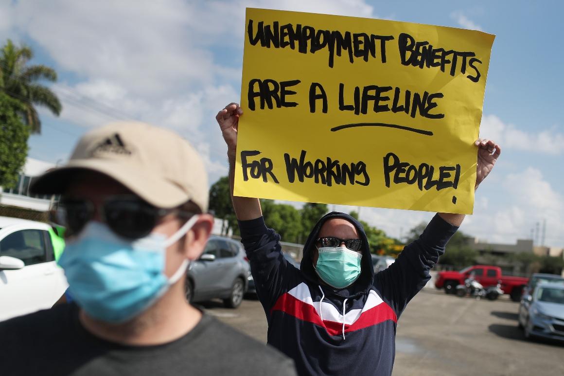 Virus resurgence menaces economic system simply as rescue applications unravel