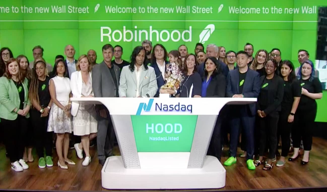 Robinhood surges one other 13% a day after leaping previous IPO worth