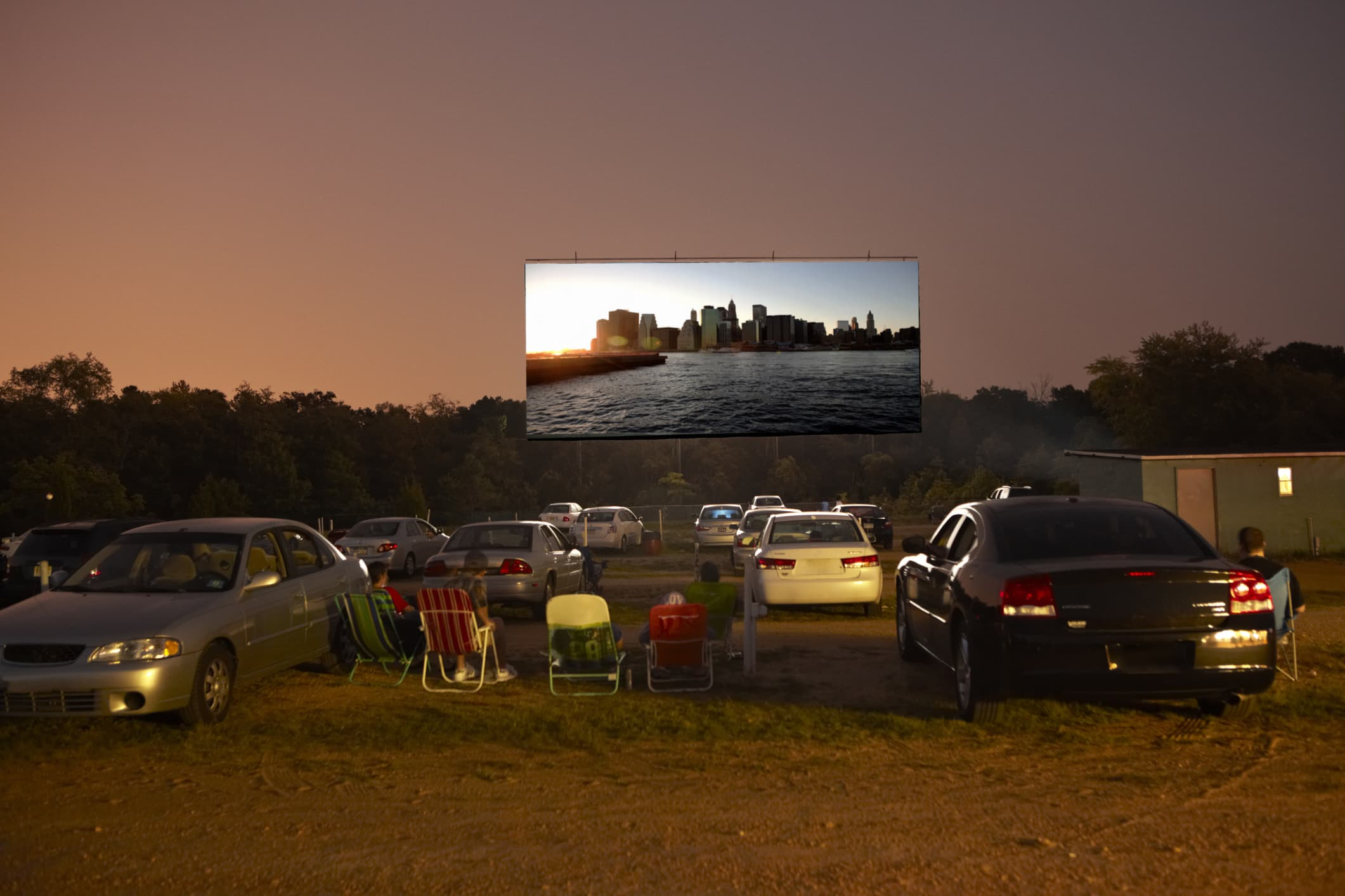 Black-owned drive-in movie show born of the Covid pandemic has plans to stay round