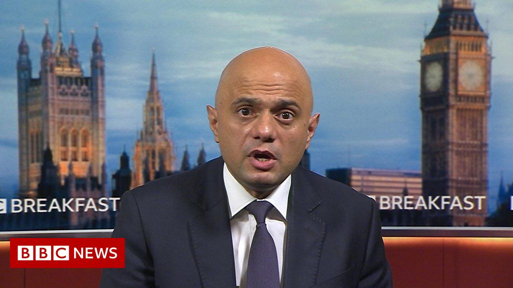 Sajid Javid: 'We need to avoid unsustainable pressure on the NHS'