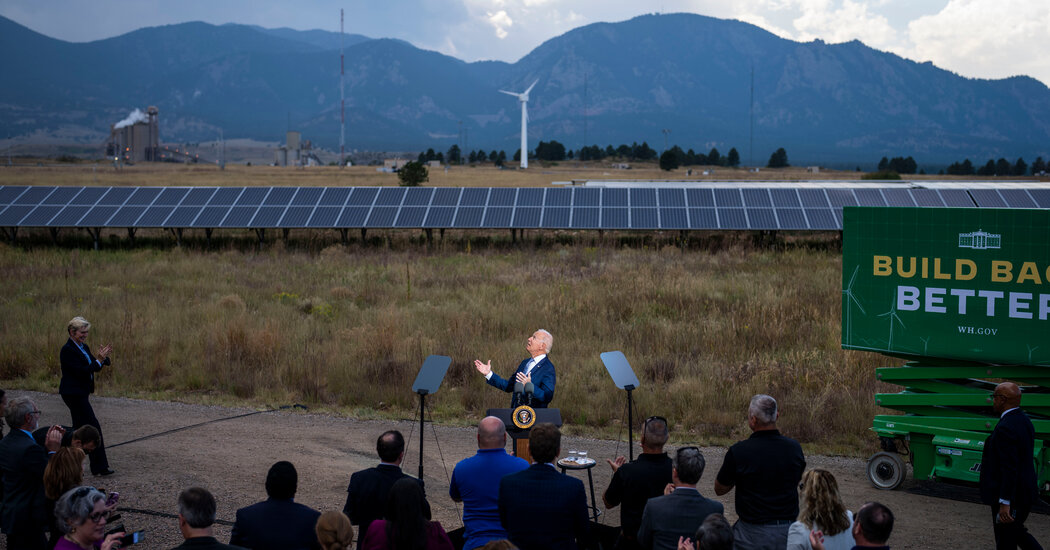 Biden Urges Climate Action: 'We Don't Have Much More Than 10 Years'
