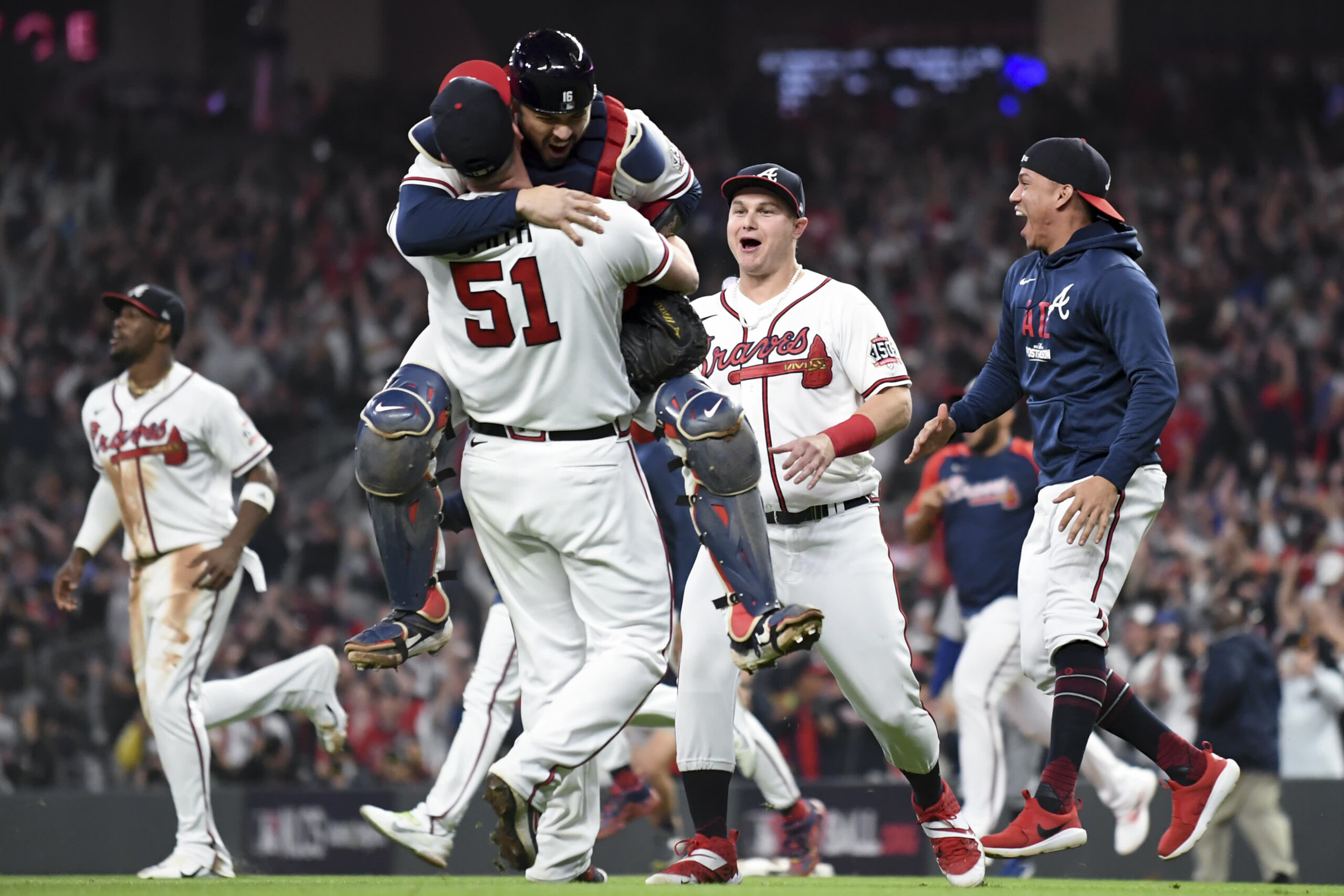 MLB caps rocky year with Braves vs. Astros title